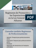Regimenes de Promocion a Las Exportaciones