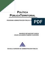 Politica Publica Territorial