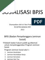 SOSIALISASI BPJS