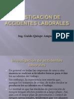 Presentación N° 7 Investigacion de Accidentes