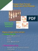 Materi Kuliah Ilmu Bahan Makanan (Daging), STIKES BINAWAN, 2013