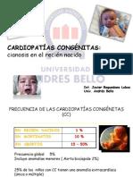 Cardiopatías cianóticas en el RN