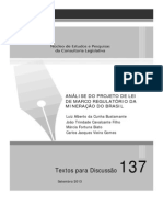 Td 137 Analise Do Projeto de Lei de Marco Regulatorio Da Mineracao Do Brasil