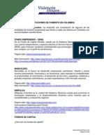 Instituciones de Fomento en Colombia