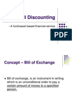 bill of exchange discounting | Invoice | Reserve Bank Of India