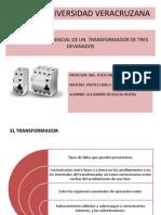 20_PROTECCIÓN DIFERENCIAL DE UN  TRANSFORMADOR DE TRES DEVANADOS