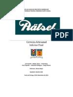 Informe Cerveza Ratsel