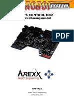 Rp6 m32 Manual De