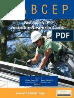 NABCEP PV Installer Resource Guide March 2012 v.5.2