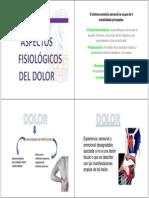 Fisiologia Del Dolor.