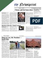 Libertynewsprint 8-14-09 Edition
