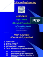 Lecture#14 HIGH VACUUM Advance H v Engg.