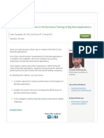 Webinar- Keys to Success in Performance Testing of Big Data Applications
