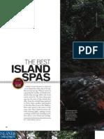 Islands Mag-Best Island Spas Article