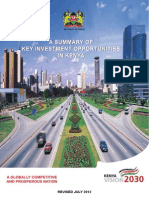 Kenya Vision 2030; Second Medium Term Plan ( 2013-2017) 