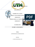 Universidad Tecnologica de Honduras Plan de Comunicacion (1)