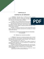 Contractul de Imprumut Comodatul