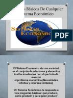 Procesos Básicos De Cualquier Sistema Económico
