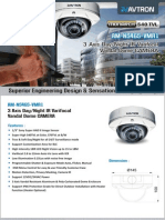 Avtron IR Varifocal Vandal Dome Camera AM-N5465-VMR1