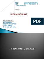 Project Report on Hydraulic Disc Brakes | Brake | Machines