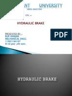 Hydraulic Brake (PPT)