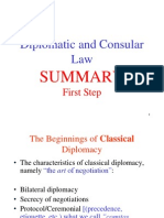 Diplomatic and Consular Law PART TWO