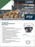 Avtron IR Varifocal Dome Camera AM-S696-VMR1