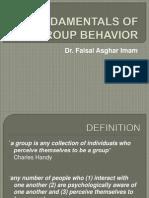 Fundamentals of Group Dynamics