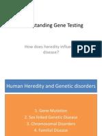 Understanding Gene Testing