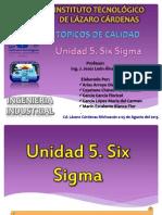 Equipo 1 Unidad 5 Six Sigma