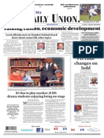 The Daily Union. November 21, 2013