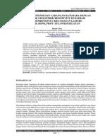 Analisis Peotensi Dan Cadangan Batubara Daerah Massenrengpulu Dengan Metode Geolostrik