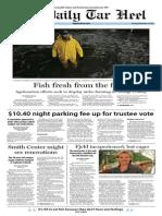 The Daily Tar Heel for November 21, 2013