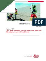 RoadRunner manual