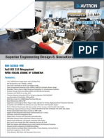 Avtron Full HD Varifocal dome IP camera AM-S2016-VM-PDF