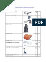 Panduan Harga Peralatan Sukan - 2013