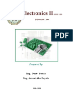 Electronic II Lab Manual