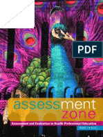 Assessment Zone Issue 1 2013