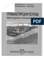 Zbirka Zadataka Upravljanje Prirodnim Resursima