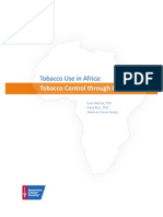 Tobacco Use In Africa; Tobacco Control Through Prevention