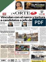 Periódico Norte de Ciudad Juarez 21 de Noviembre de 2013