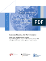 Business Planning 2011 micronsurance