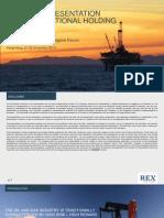 REX Presentation JPMForum HK