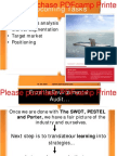 Marketing Environment & Segmentation 03