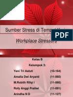 Sumber Stress Di Tempat Kerja