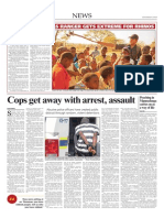 Cops Get Away With Arrest, Assault