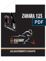 Manual de Usuario kEEWAY Zahara 125