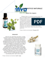 Antibiotice Naturale