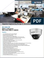 Avtron Oxga vari focal Dome IP Camera AM-S3016-VM-PDF