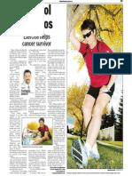 Colleen De Roy, Keeping Fit, Sun Media (Oct. 2, 2006)